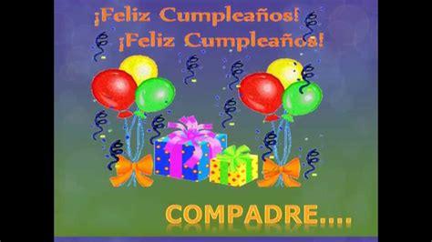 Imagenes Feliz Cumpleaños Compadre   im 225 genes de feliz cumplea 241 os compadre im 225 genes