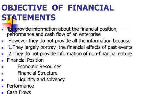 the objectives of financial statements objective of financial statement 28 images objective