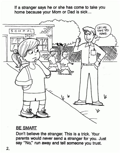 Danger Worksheets by Danger Coloring Pages Coloring Home