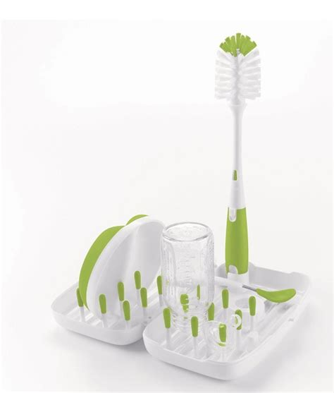 Travel Bottle Drying Rack by Oxo Tot On The Go Travel Drying Rack With Bottle Brush