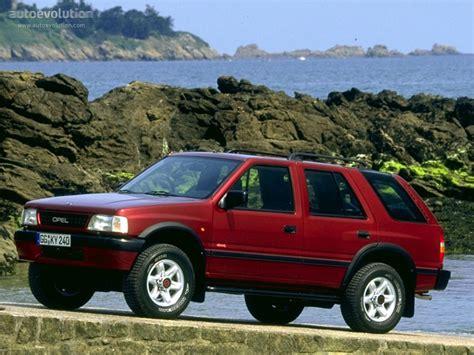 opel frontera 1995 opel frontera wagon 1995 1996 1997 1998 autoevolution