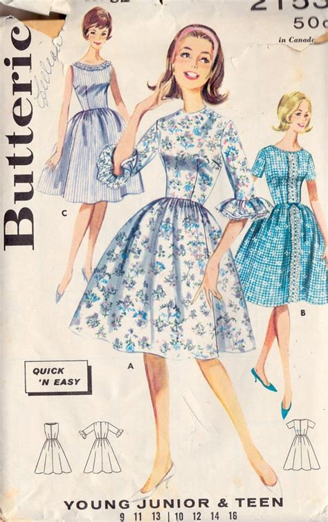 sewing patterns young fashion 22 best 1960s teen images on pinterest vintage sewing
