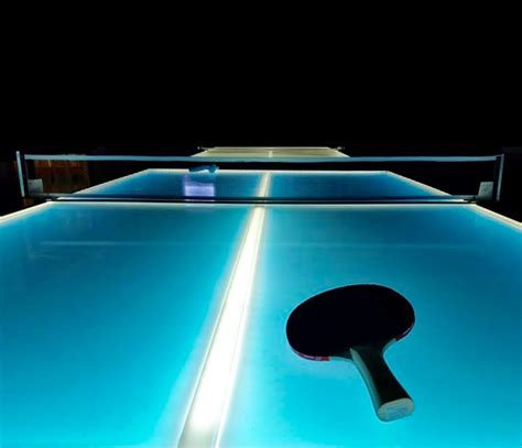 ping pong table area glow in the ping pong table 21 rentals