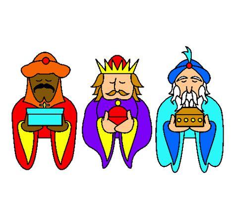 imagenes reyes magos caricatura dibujo de los reyes magos 4 pintado por renchu1999 en