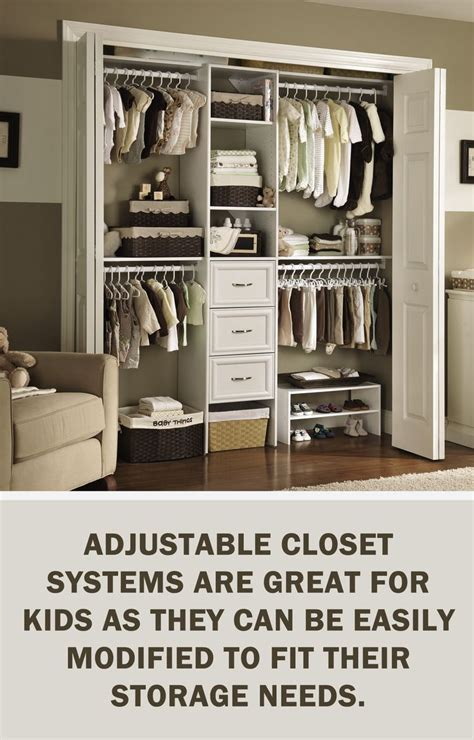 Adjustable Closet Organizer System by Letsgetorganized With Closetmaid Adjustable Closet