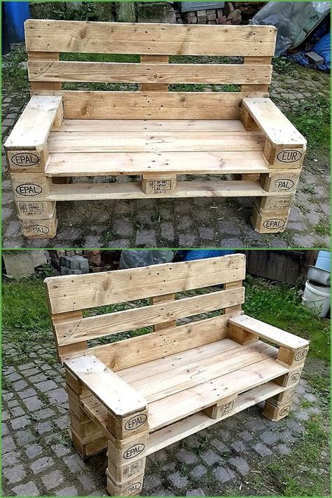How To Make A Pallet With A Back by Oltre 1000 Idee Su Panchine Pallet Su Mobili