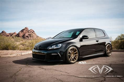 volkswagen golf stance volkswagen golf r gets new stance on adv 1 wheels