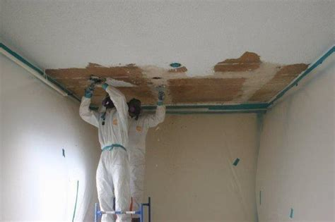 asbestos in ceiling asbestos removal health risks