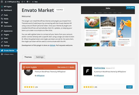 themes wordpress envato how to automatically update wordpress themes with the