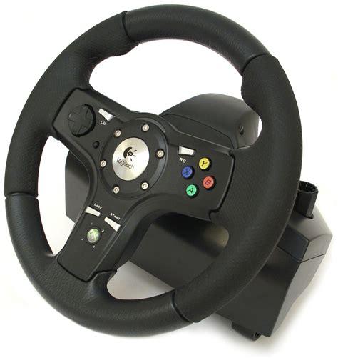 volante logitech xbox 360 test volant logitech drivefx xboxracer