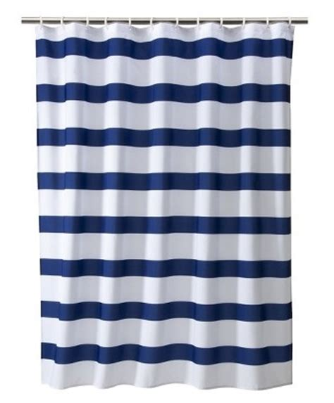 nautical stripe curtains nautical stripe shower curtain coop s alligator