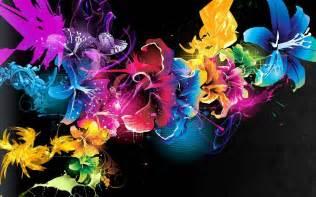 Black Market Flowers - neon flowers 13310 1280x800 px hdwallsource com