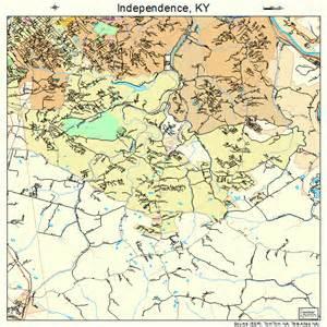 independence map independence kentucky map 2139142