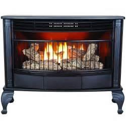 procom vent free 25k btu free standing gas stove fireplace