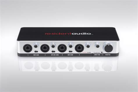 Resident Audio T4 resident audio debuts with world s powered multichannel thunderbolt 174 interface
