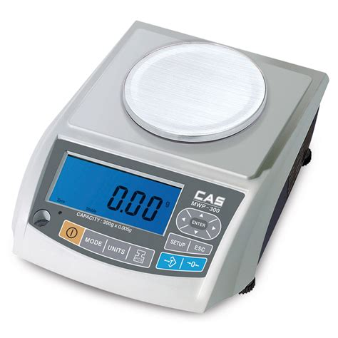 Weighing Scale by Cas Mwp Micro Weighing Balance Weighing Counting