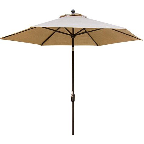 11ft Patio Umbrella Cambridge Concord 11 Ft Patio Umbrella In Concrdumb 11 The Home Depot