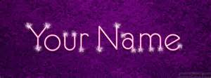 sparkle text name cover facebook timeline cover