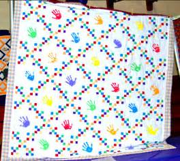 handprint quilt flickr photo