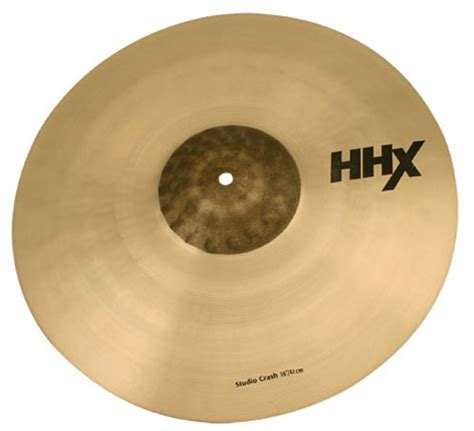 Sabian Cymbal Hhx Stage Crash 16 sabian hhx studio crash 16 keymusic