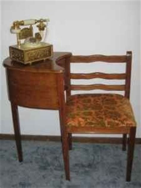 Antique Phone Chair by Antique Telephone Table Chair Desk Telephones