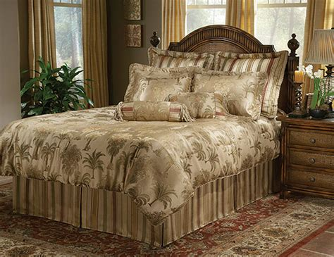 tropical comforter sets in queen 9 pc and king 11 pc sets