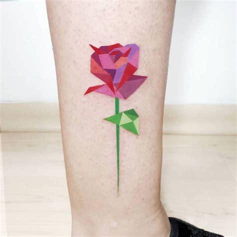 tattoo geometric uk 1000 ideas about geometric rose tattoo on pinterest