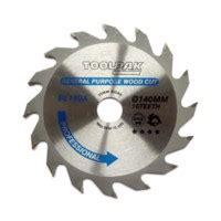 Toolpak 140mm X 20mm X 16t Professional Tct Saw Blade Bl140a