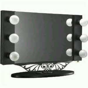 vanity lighted table top mirror ideas diy tips