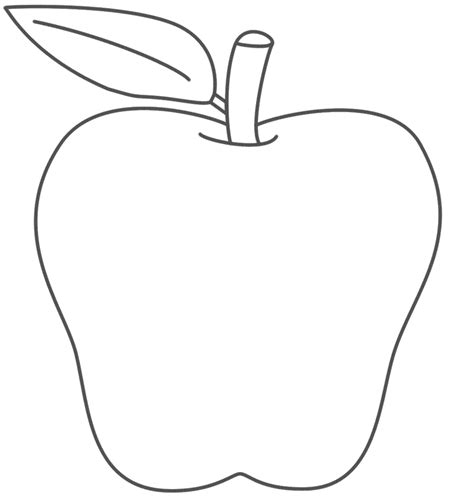 Use Blank Apple Templates For Several Activities Trace Pin Outline With Thumbtacks Apple Apple Pages Templates