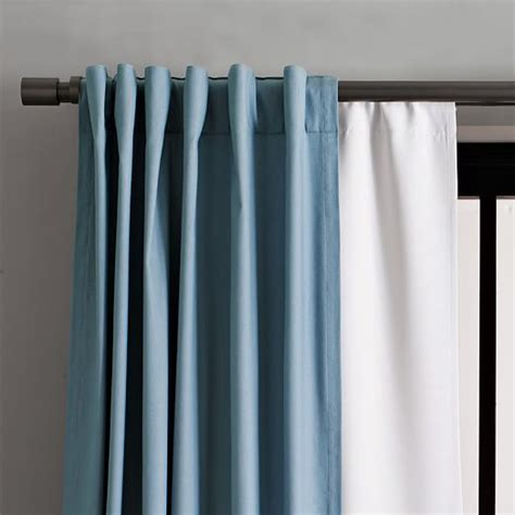 how to blackout curtains blackout curtain west elm