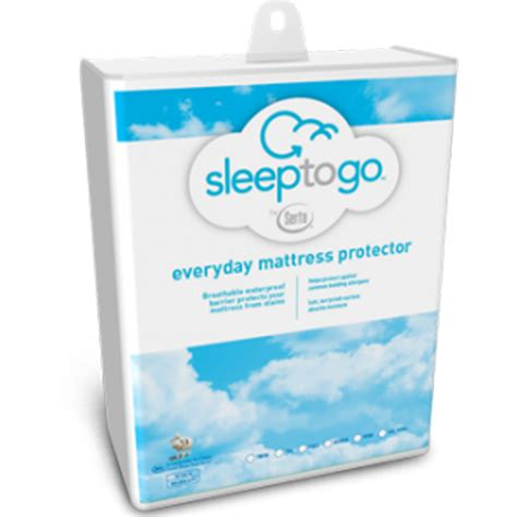 Sleep To Go Mattress Protector serta sleep to go everyday mattress protector home