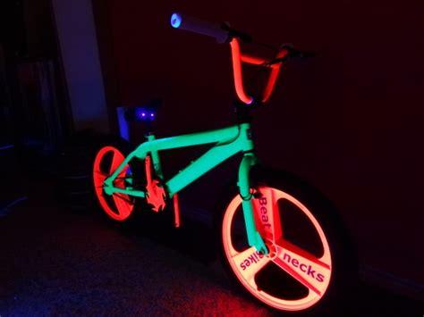 glow in the paint for bikes bmx beatneck glow bike beatnecks glow bmx