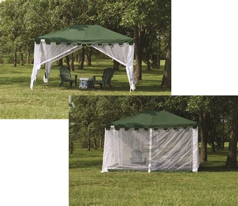 backyard canopy tent 13x10 outdoor screen arbor canopy tent shelter gazebo ebay