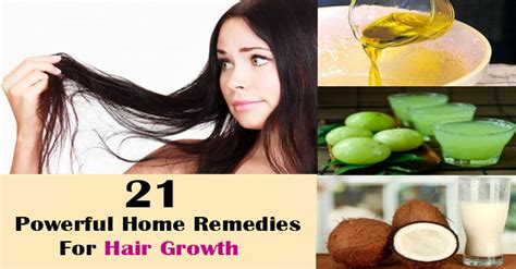 21 powerful home remedies for hair growth amazing diet