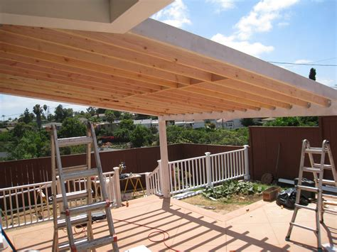 wood patio covers vs aluminum patio covers best rate