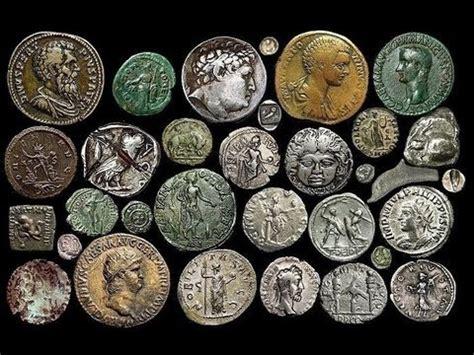 imagenes monedas antiguas antiguas monedas populares de cartago grecia y roma
