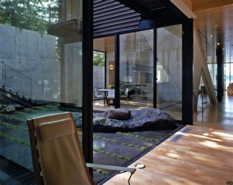 style house plans with interior courtyard contemporary courtyard design invites nature in