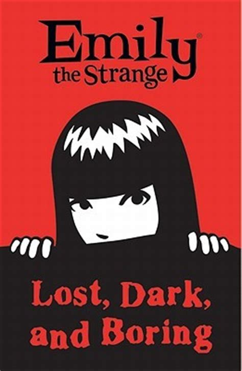 in the s range books emily the strange lost and boring by rob reger