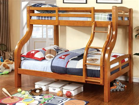 twin over double bunk bed solpine twin over full bunk bed
