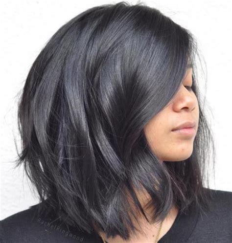 medium length haircuts for thick black hair 90 sensational medium length haircuts for thick hair in 2017