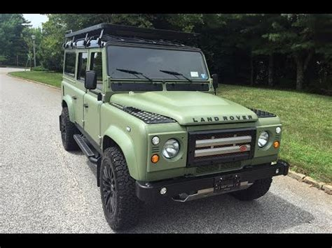 land rover 1990 1990 land rover defender 110 youtube