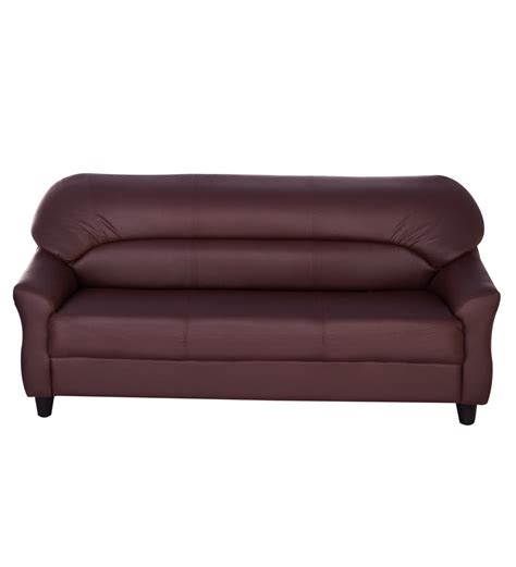 nilkamal sofa price list nilkamal auckland brown three seater sofa best deals with