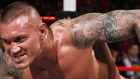 randy orton tattoos designs mbecak randy ortons skullsonly sleeves how about a