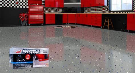 Rock Solid Floor Paint by Rock Solid Floors Polyurea Industrial Floor Coating System