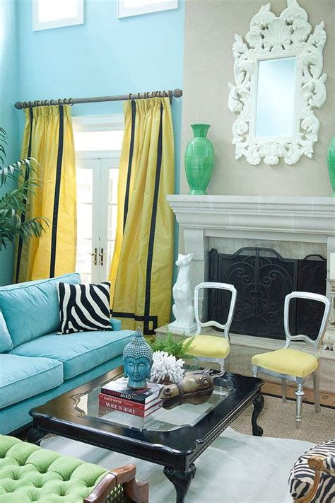 yellow and turquoise room stealing sorensen s turquoise black white and chartreuse yellow color story for my