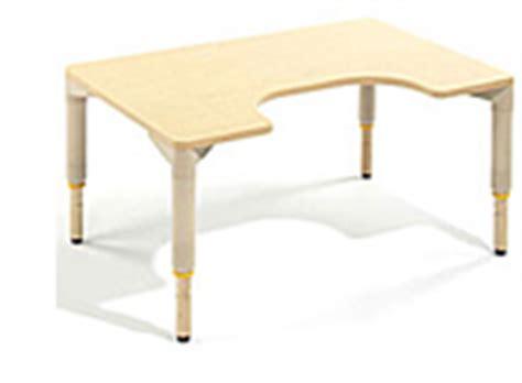 Multi Desk by Rifton Multi Desk Wheelchair Desks