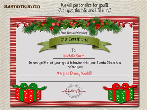 diy gift card template gift certificate template 34 free word outlook pdf