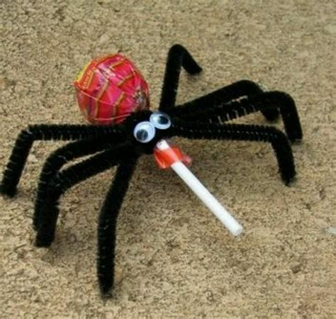 spider crafts for spider pop craft