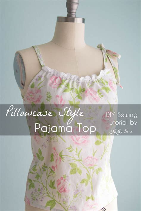 pillowcase dress pattern youtube sew a pillowcase top vintage sheets pajama top melly sews